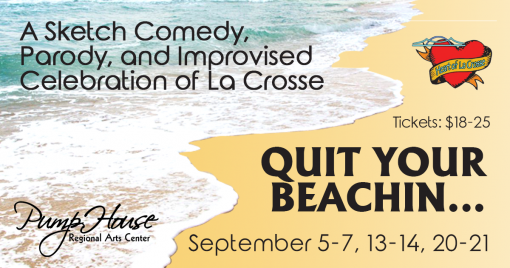 Quit your Beachin Graphic