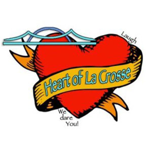 Heart of La Crosse logo