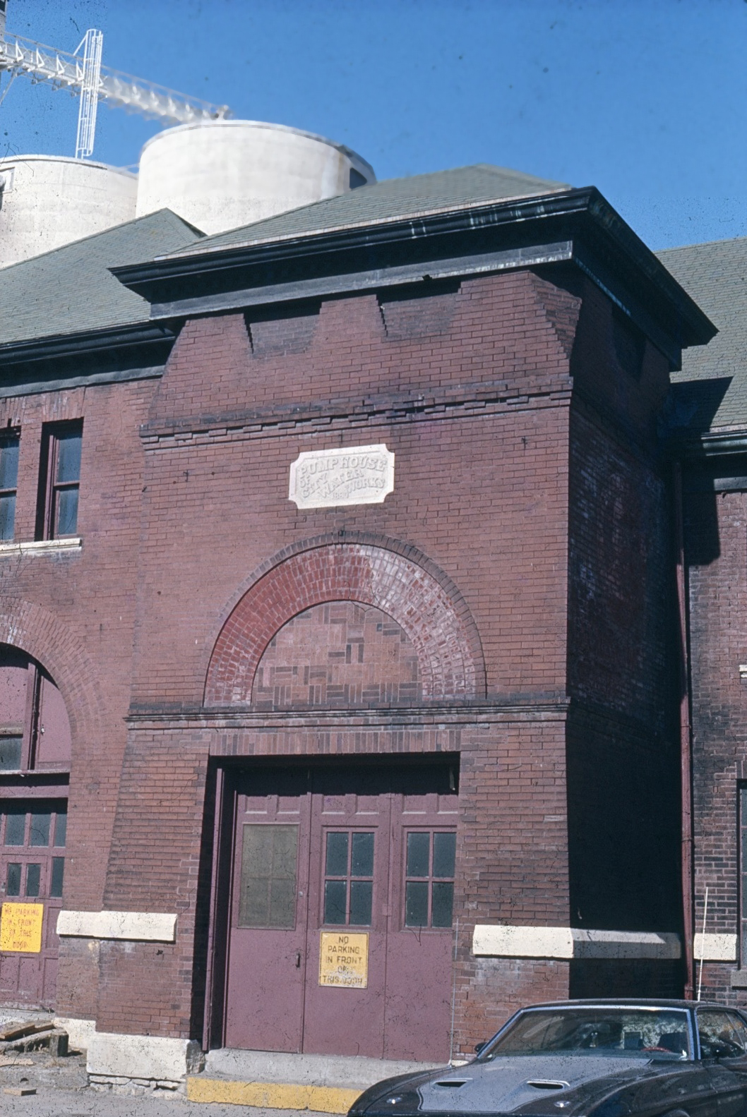 old picture of pump house
