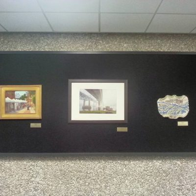 Art in the town hall building