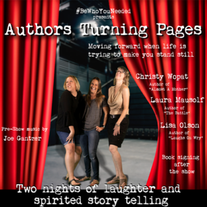 Authors Turning Pages