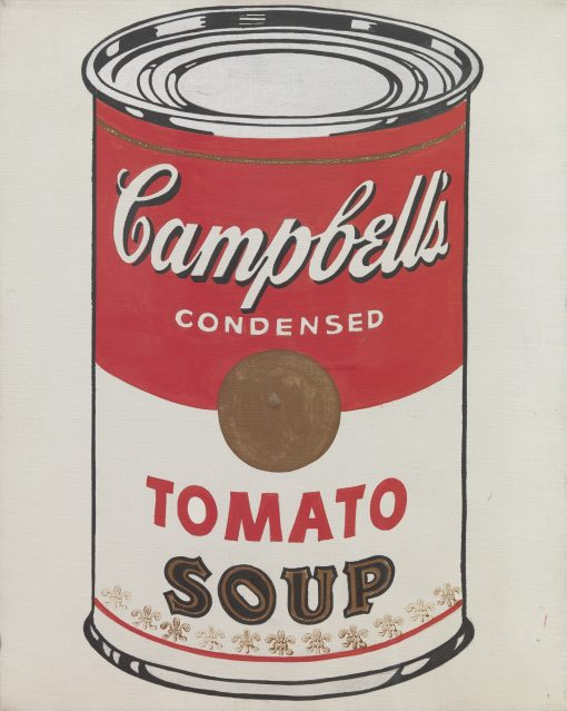 Campbells soup can art