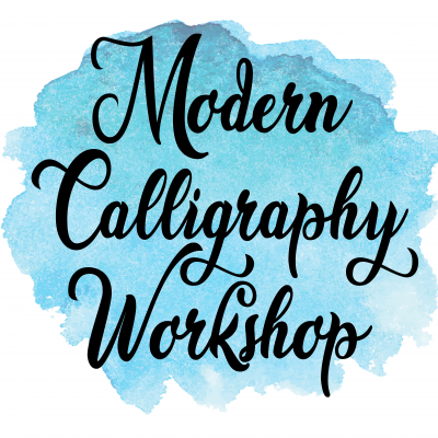 Modern Calligraphy Workshop Graphic
