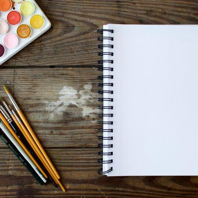 Blank Art Book